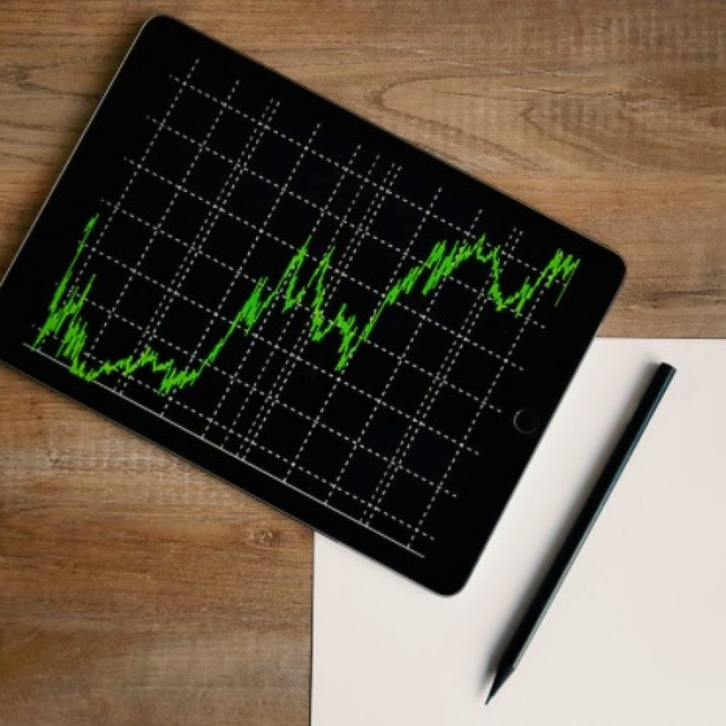 Stock market overview and chart